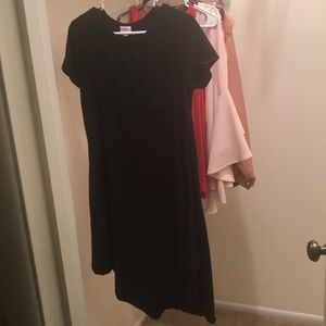 Black solid LulaRoe Carly